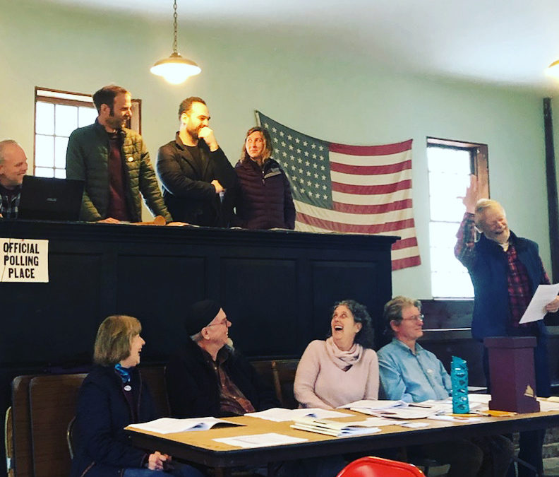 living in vermont town meeting